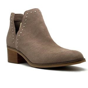 Steve Madden Lorna Suede  Ankle Bootie